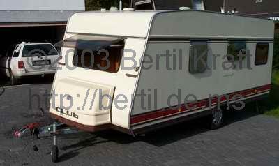Wohnwagen Etagenbett Mittelsitzgruppe Festbett : Wohnwagen « bertil kraft